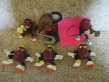 California Raisins Vintage Late1980's Lot C sing dance horn band music toys part