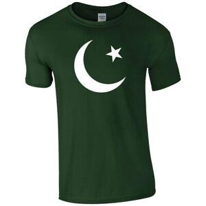 PAKISTAN FLAG Cricket World Cup Forest Green T-Shirt