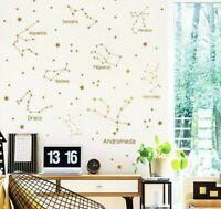 Stars Constellation Astrology WALL STICKER Decal Educational Art Mural ST237
