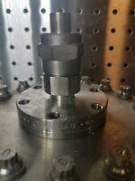 "Adapter Conflat 2.75 - 0.5"" Compression Tube UHV Ultra High Vacuum Varian Flange"