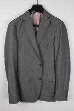 GANT by MICHAEL BASTIAN Gray Lightweight Cotton & Wool Blazer Sport Coat 38 48