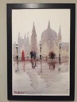 "ORIGINAL watercolor Painting Hungary, ""BUDAPEST"" 12x18 by John Harrison"