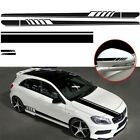 Black Car Stickers Body Decals Decor Hood Parts Racing Roof Side Durable