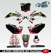 KIT ADESIVI GRAFICHE  ROCK CAMO HONDA CRF 250 2006 2007 DECALS DEKOR