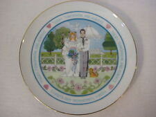 """Lasting Memories """"Today, Tomorrow, And Always"""" Plate, Made In Japan, 6 1/2"""" Dia"""