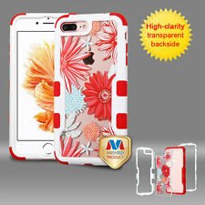 Clear Hard Back Hybrid Shockproof Case Bumper Cover For Apple iPhone 7 Plus 7