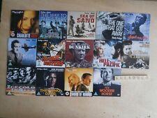 ROGER MOORE DANIEL CRAIG ETC - FULL SET OF 14 CLASSIC WAR PROMO DVDS - NEW