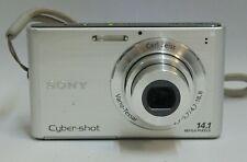 "Sony Cyber-shot DSC-W330 Digital Camera 14.1MP 3.0"" 4x OZ 2x DZ Good Condition"