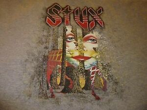 Styx Tour Shirt Reprint ( Used Size XXL ) Nice Condition!!!