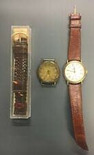 Lot Men's Watches Band Guess Fossil Pre Owned