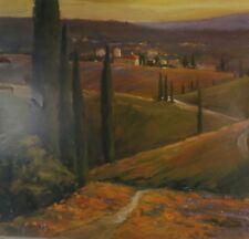 "LIGHT AT DUSK II by DOMINIC MILLER 24X36/"" Landscape Art Poster"