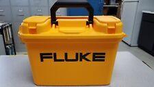 "FLUKE C1600 METER GEAR BOX, TOOL BOX, 10"" H-6 4/5""W- 13"" L, FREE FLUKE SET AC72"