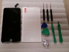 Iphone 6 Plus + Black LCD Digitizer Screen 5.5 w/ tools & Tempered Glass