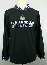 Vintage CCM NHL Los Angeles Kings Pullover Hockey Jacket Size Adult Medium M