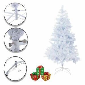 Christmas Tree 4-6ft Colorado Pine Artificial Xmas Traditional White Xmas Tree
