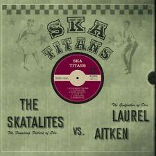 LAUREL AITKEN vs THE SKATALITES Ska Titans LP 90s Moon NYC Mad Butcher reggae