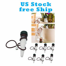 6x Automatic Self Watering Tool Plant Drip System Garden Irrigation Us Free Ship
