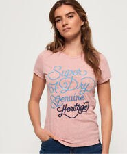 Superdry Womens 67 Genuine Fade Embroidery T-Shirt