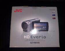 NEW JVC HD EVERIO MEMORY PAL GZ-HM445E SILVER 2.7 TOUCH PANEL