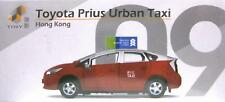 09 Tiny Toyota Prius Urban Taxi Car Hong Kong Diecast Mini Model Toy Car RED