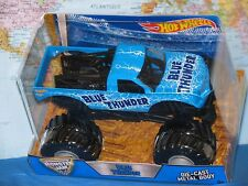 1/24 HOT WHEELS MONSTER JAM BLUE THUNDER TRUCK DIECAST METAL BODY BRAND NEW VHTF