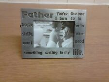 Metal - Father - Picture Frame.