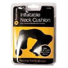 Collo gonfiabile Cuscino Flock COPERTA testa, collo e spalle Cuscino Riposo-Nuovo