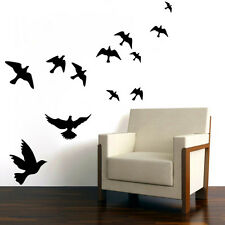 Removable Vinyl Decal Art Birds Family Home Living Room Decor Quote Wall Sticker