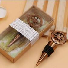 Travel Theme Wedding Party Favors Compass Wine Bottle Stoppers Souvenirs Gifts