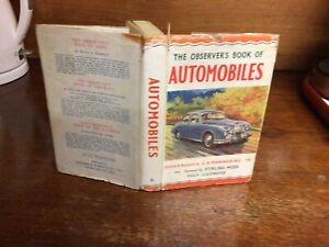 Observers Book Of Automobiles 1958