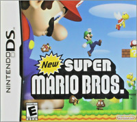 Brand New Sealed - New Super Mario Bros. for the Nintendo DS USA Free Shipping
