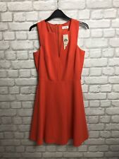 MISS SELFRIDGE LADIES DRESS SIZE 10 BRIGHT RED PARTY EVENING DRESS NEW