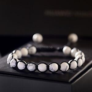 7 Chakra Healing Balance Beaded Bracelets Braided Stone Yoga Reiki Prayer Bangle