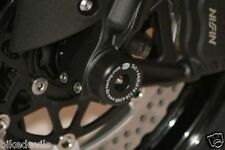 Kawasaki ZX6-R 2003-2012 R&G racing fork protectors bobbins FP0007BK