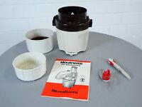 Moulinex Moulinette 32002 Küchenmaschine inkl. Messerheber und Anleitung 70er J.