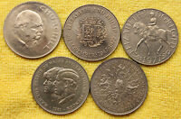 CROWNS DATE RUN FROM 1965 TO 1981 5 CROWNS SET
