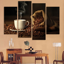 Large Canvas Painting Coffee Modern Home Wall Art Decor Picture Print No Frame
