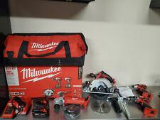 Milwaukee 2691-24G New 18V 5 Tool Combo Kit