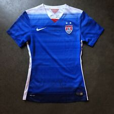 Womens Nike 2015 USWNT Team USA World Cup Christie Rampone Autographed Jersey XS