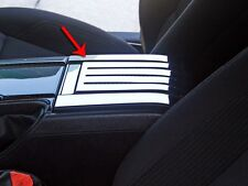ACC 2011-2013 Mustang - Center Console Cover Polished Rear Slotted/Carbon Fiber