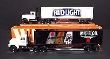 Bud Light Michelob Winross Tractor Trailers Anheuser Busch Distributor Exclusive
