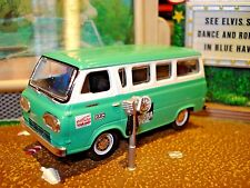 1965 65 FORD FALCON TEAM HELP VAN PAN-AMERICAN RACE LIMITED EDITION 1/64 M2