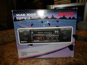 Brand New Sanyo Shaft Style Cassette Tape Deck FM Radio Model MAR-1000