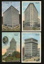 USA OHIO CLEVELAND 6th CITY c1910-25 BRAUN SERIES PPCs...7 DIFFERENT CARDS