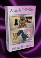 Card-making DVD - Animals Collection inc Cecil Aldin, Louis Wain items and more!