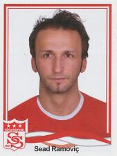 N°357 SEAD RAMOVIC # BOSNIA SIVASSPOR STICKER PANINI SUPERLIG 2011
