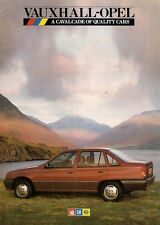 Vauxhall Opel Early 1986 UK Brochure Nova Astra Cavalier Manta Carlton Senator