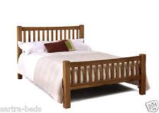 Rustic Oak 4ft 6 Double Oak Bed / Bedstead NEW *CLEARANCE ITEM*