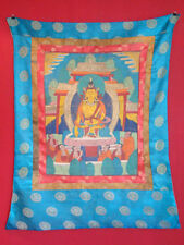 Antik Original Thangka Thanka Tibet Asien handbemalt
