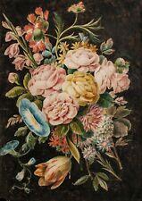 Johann Amandus Wink (?) - Blumenstrauß - Aquarell - o.J.